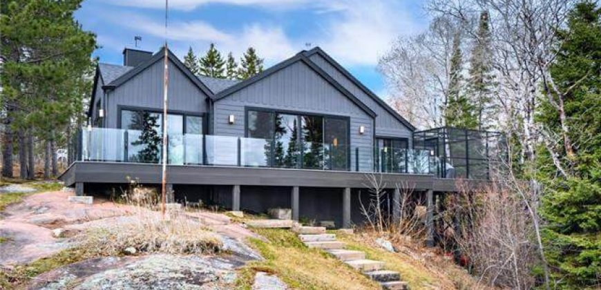 Big Whiteshell Lake Luxury Home